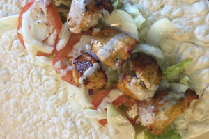 Chicken Kabob Wrap - delivery menu