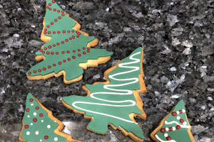 Christmas Tree Cookie - delivery menu