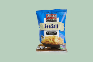 Boulder Canyon Potato Chips - Sea Salt - delivery menu