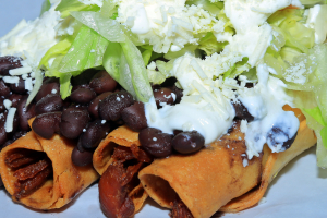 4 Tacos Dorados - delivery menu