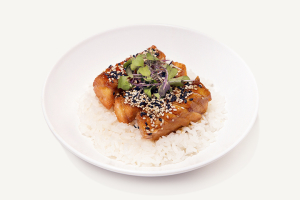 Teriyaki Salmon Rice Bowl - delivery menu