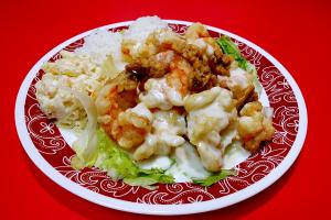 39. Honey Walnut Shrimp Plate - delivery menu
