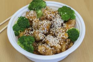 608. Sesame Chicken - delivery menu
