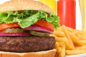 1. Hamburger Deluxe - delivery menu