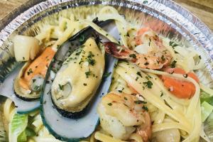 Seafood Pazzo Linguine - delivery menu