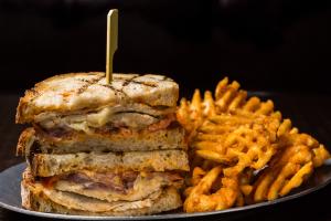Chipotle Chicken Toastie - delivery menu