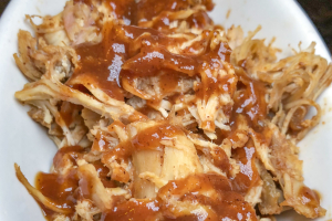 1/4 lb. Pulled BBQ Chicken Brunch - delivery menu
