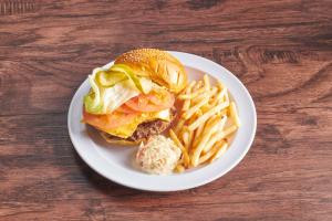 HashBrown Burger - delivery menu
