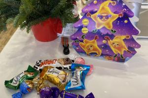 Christmas Tree - delivery menu