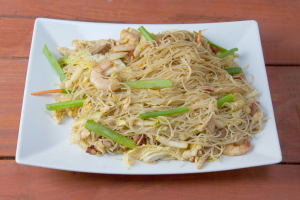 132. Singapore Chow Mai Fun - delivery menu
