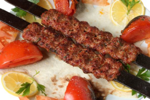 Kafta 2  with rice Or sandwich - delivery menu