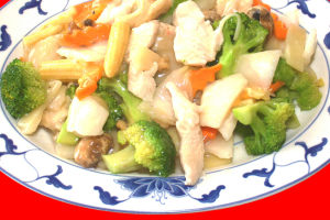 110. Chicken Kow with Vegetable - delivery menu