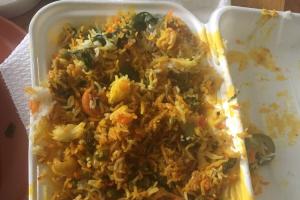 53. Veggie Biryani - delivery menu