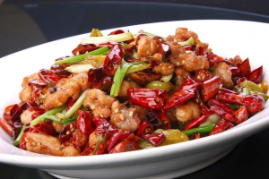 Chicken with Spicy Pepper - delivery menu