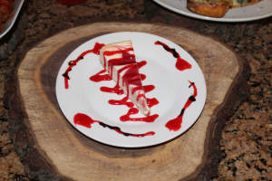 Strawberry Swirl Cheesecake - delivery menu