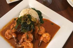 Lunch Panang Grilled Shrimp * - delivery menu