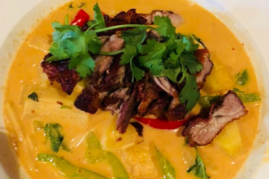 Duck in Pineapple Curry - delivery menu