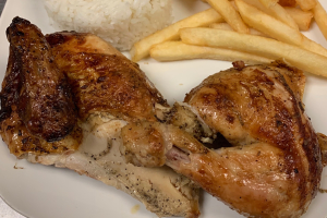 1/2 Chicken with 2 Small Sides - delivery menu