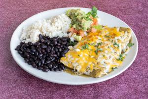 10. Vegetarian Enchiladas - delivery menu