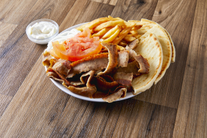 Gyro Plate Dinner - delivery menu
