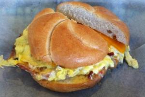 2 Eggs Breakfast Sandwich - delivery menu