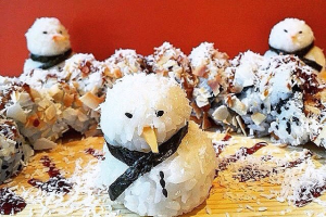 Snowflake Maki - delivery menu