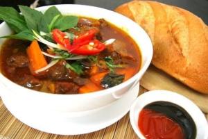 A20. Banh Mi Bo Kho - delivery menu