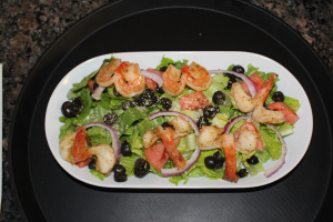 Grilled Jumbo Shrimp Salad - delivery menu