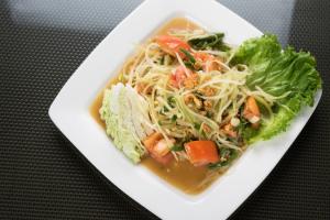 19. Papaya Salad - delivery menu