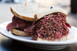 Hot Pastrami Sandwich - delivery menu