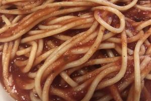 Spaghetti - delivery menu