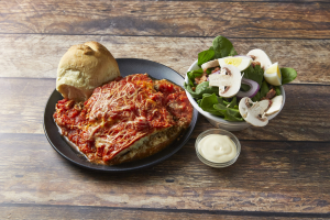 Baked Spaghetti Pie in our Parmesan Crust - delivery menu