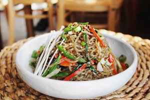 15. Glass Noodles (Japchae) - delivery menu