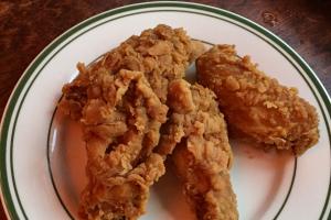 Fried Crispy Chicken Wings - delivery menu