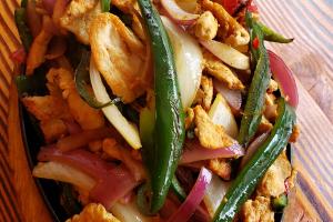 Fajita de chicken - delivery menu