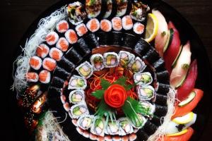 Large Maki Tray ( serve 8 maki rolls ) - delivery menu