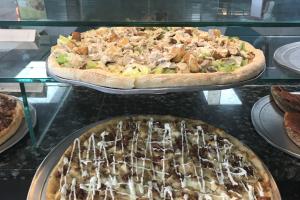 """18"""" Round Chicken Bacon Ranch Pie - delivery menu"""