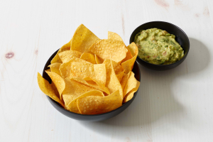 Guacamole with Chips - delivery menu