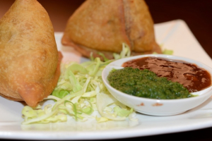 Vegetarian Samosa - delivery menu