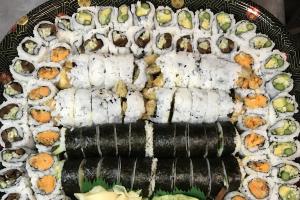 G. Vegetarian Roll Platter - delivery menu