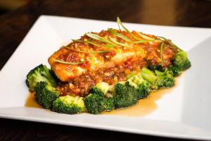 3 Flavor Salmon - delivery menu