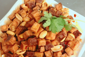 112. Crispy Peanut with Dry Bean Curd - delivery menu