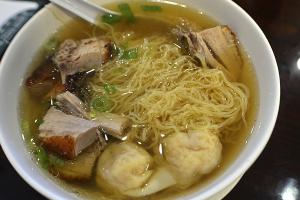 Roast Duck with Wonton Noodles Soup - delivery menu