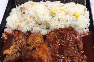 Braised Stew Chicken - delivery menu