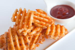 Waffle Fries Tray - delivery menu