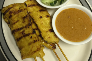 2. Satay Chicken  - delivery menu