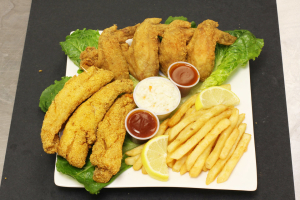 Fish and Chicken Combo - delivery menu