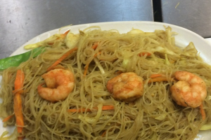 Shrimp Rice Noodle in Singapore Style - delivery menu