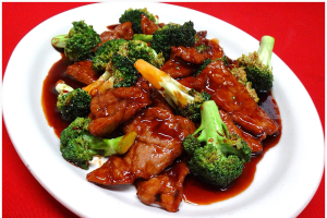 100. Roast Pork with Broccoli - delivery menu