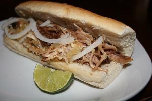 Pork Sandwich - delivery menu